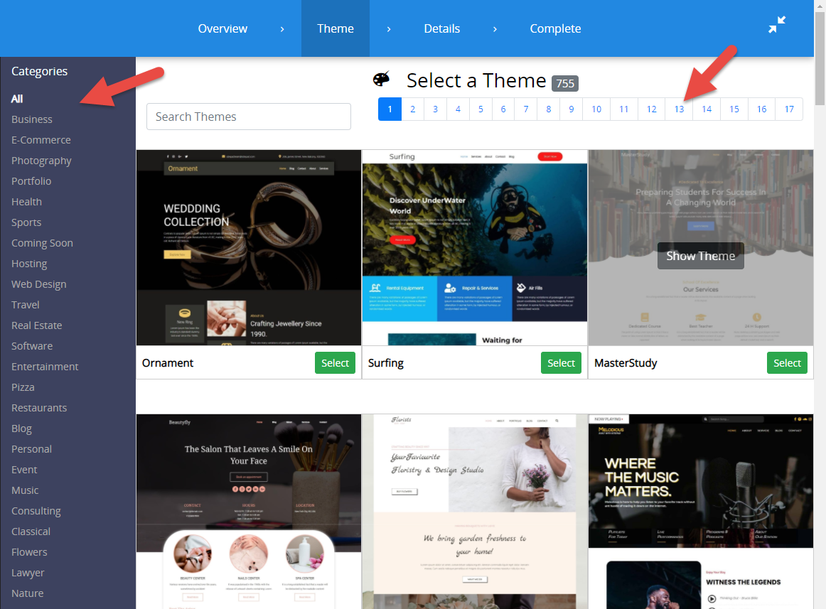 browse-themes